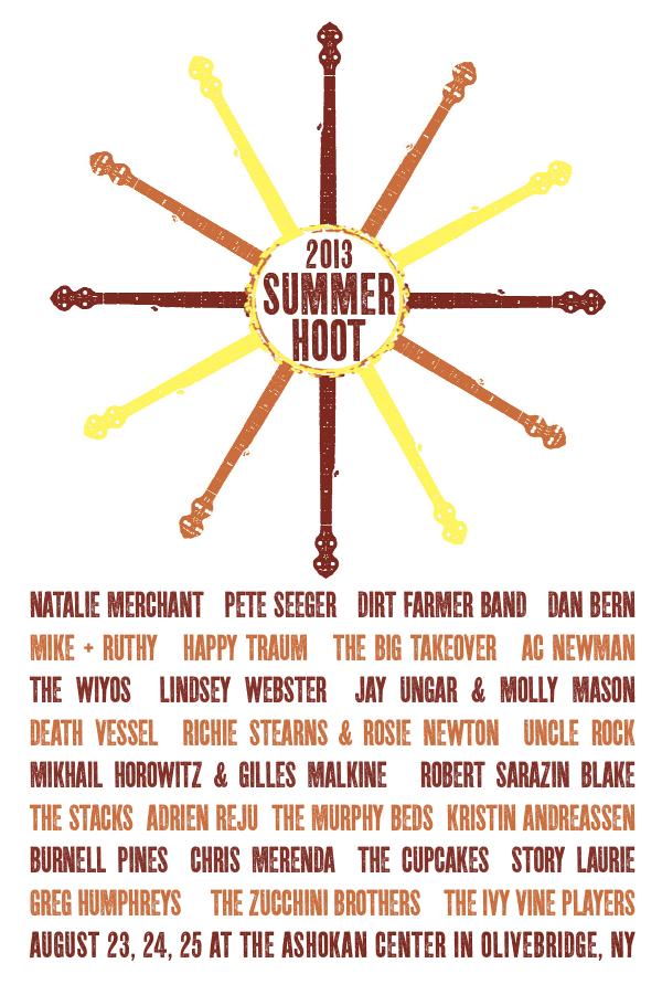 Jefferson Hamer • Murphy Beds to play Summer Hoot at Ashokan